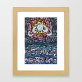 Tides - Cycles Framed Art Print