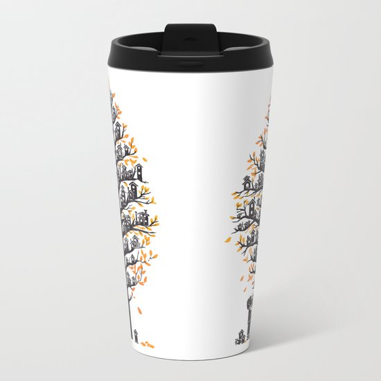 Hoot Lodge Metal Travel Mug