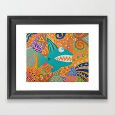 Wish Upon a Fish Framed Art Print