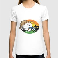 snoopy T-shirts featuring Safari Snoopy by Yildiray Atas
