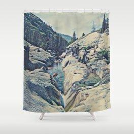 Kings Canyon, California Shower Curtain
