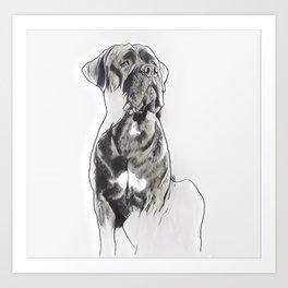 Inked Monster Art Print
