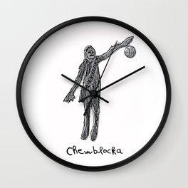 Chewblocka! Wall Clock