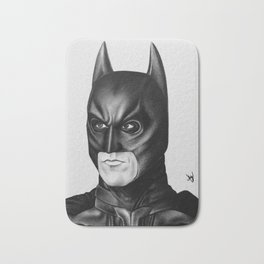 The Bat Drawing Bath Mat