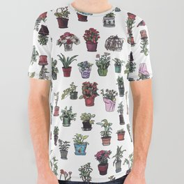 Beesly Botanicals All Over Graphic Tee