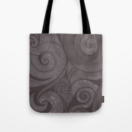 Black on black Tote Bag