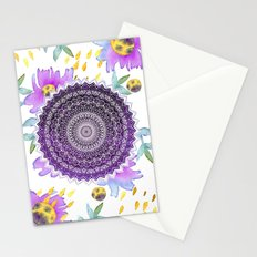 BLOOM MANDALA Stationery Cards