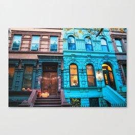 New York City Colors Canvas Print