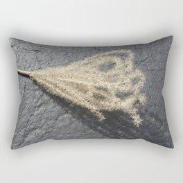 Grass on Blacktop Rectangular Pillow