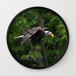 RIVER EAGLE Wall Clock