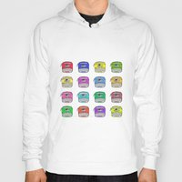write Hoodies featuring Write on by andy_panda_