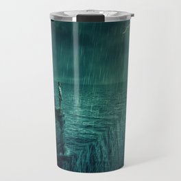 At the edge of Nothing Travel Mug