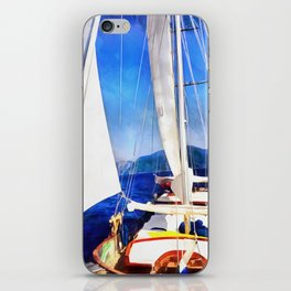Land Was Created For Boats To Visit iPhone Skin
