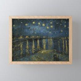 Vincent van Gogh - Starry Night, 1888 Framed Mini Art Print