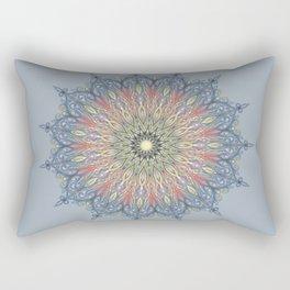 swirl mandala Rectangular Pillow