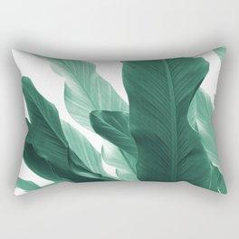 Banana Leaves Jungle #5 #tropical #decor #art #society6 Rectangular Pillow