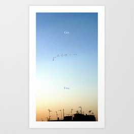 The Flight Art Print