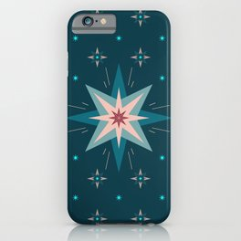 North Star | Midnight Blue Sky iPhone Case