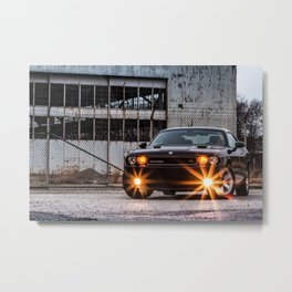 Challenger Metal Print