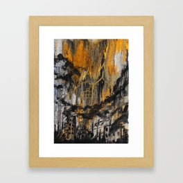 The Destruction of Dresden Framed Art Print