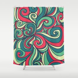 Let's Get Funky Shower Curtain