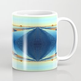 Under Naples Pier Photographic Pattern #2 Coffee Mug