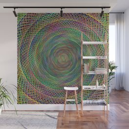 Multicolor fractal Wall Mural