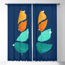 Bird Stack III Blackout Curtain
