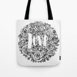 Love - Roses Illustration Tote Bag