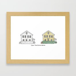 Lymes' Youth Service Bureau Framed Art Print