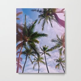 Aloha Vibes Metal Print