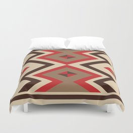 American Native Pattern No. 24 Duvet Cover