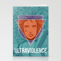 ultraviolence Stationery Cards featuring UltraViolence by EzJedi