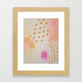 Chalkdust Framed Art Print