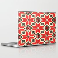 ukraine Laptop & iPad Skins featuring Folk Ukraine  by florenceK