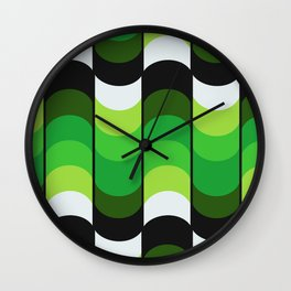 Undulation Wall Clock