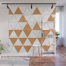 Geometric DC Wall Mural
