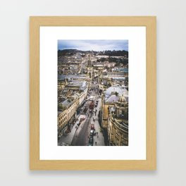 Bath Overlook Framed Art Print