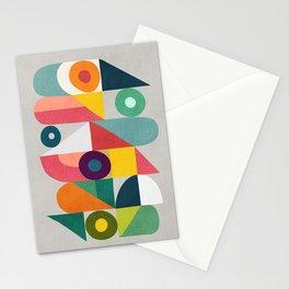 Tick Tock Machine Stationery Cards