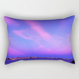 Atlantic Ocean Waves Rectangular Pillow