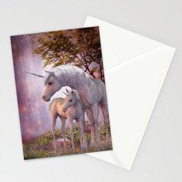 Enchanted Unicorns Stationery Cards