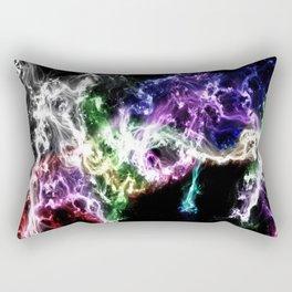Smoke and Stars Rectangular Pillow