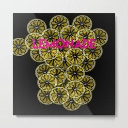 Lemonade Metal Print