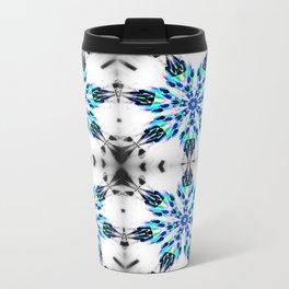 Enchanted Frozen Snowflakes Travel Mug