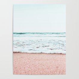 Pastel beach Poster