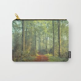 Forest Morning Walk Carry-All Pouch