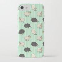 sheep iPhone & iPod Cases featuring Sheep by sheena hisiro