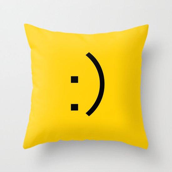 :)  Throw Pillow