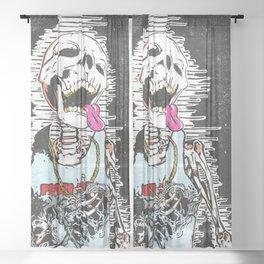 Licking lambendo Sheer Curtain