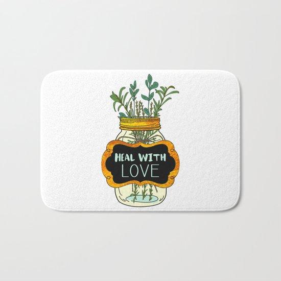 Heal With Love Bath Mat